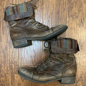 Steve Madden Parto combat boots size 9